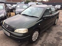 2002/02 VAUXHALL ASTRA 1.6i CLUB 5 DOOR,(A/C) PART EXCHANGE TO CLEAR, LOOKS AND DRIVES WELL