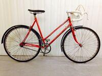 Norton Rare Road bike.stunning Lug work, three speed inbuilt gearing system