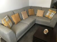 Corner Sofa Suite with Chair