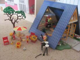 playmobil holiday house