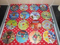 X58 CHILDREN'S DVDS