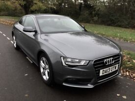 Audi A5 2.0L Diesel - Grey (SatNav, Parking sens, cruise control, full leather)