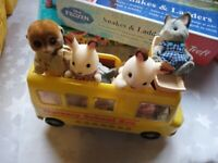 Small bundle of Sylvanian Families figurines