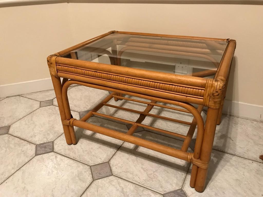 Bamboo conservatory coffee table in hedge end hampshire gumtree bamboo conservatory coffee table geotapseo Image collections