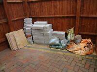 unused building materials
