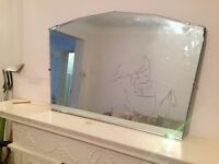 MIRROR: ANTIQUE, ART-DECO FROM 1930'S FOR SALE