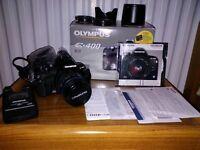 Olympus E-400 camera