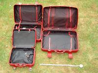Suitcases: Set of Three: