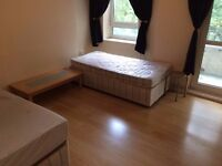 EXTRA LARGE TWIN ROOM WITH BALCONY IN CHALCK FARM SUPER CHEAP!!!