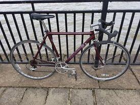 Raleigh USA R500 700mm 14 Speed Super lightweight Aluminium Road Bike Oversize Frame