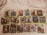 19 xbox 360 games includes gta v and call of duty