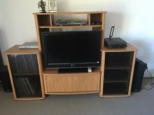 Stereo and TV Cabinet Gymea Bay Sutherland Area Preview