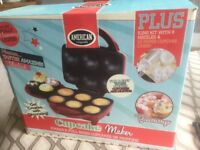 American Originals Cupcake Maker with icing kit & nozzles