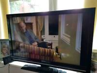 """Sharp snart Tv with remote 45"""""""