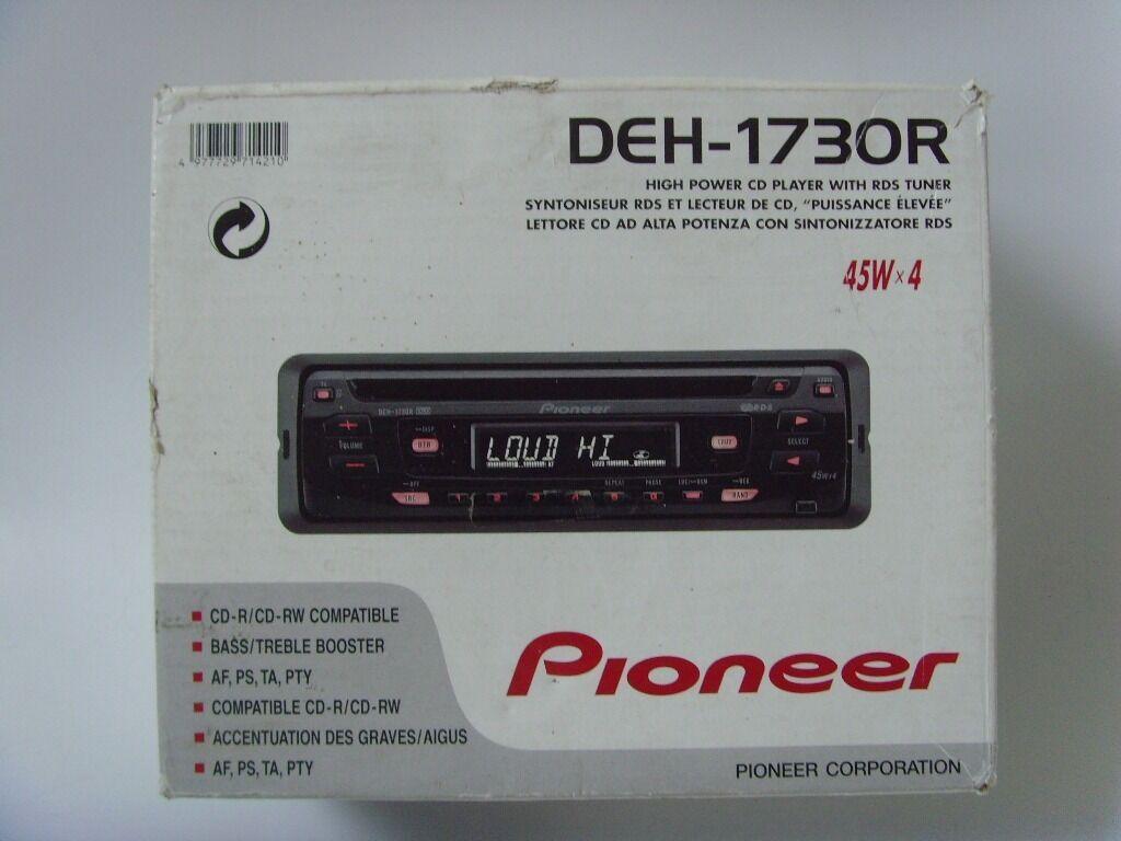 PIONEER Car Stereo 45Wx4 Radio CD Player