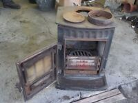 Liitle Wenlock multi fuel fire with some fittings