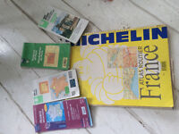 maps, all sort France. Vintage Mchelin and institute geographique national