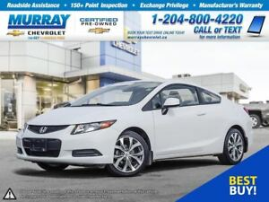 2012 Honda Civic LX (A5) *Accident Free, Traction Control*