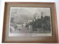 Framed Durham Cathedral Picture