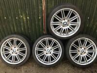18 inch bmw 1 2 3 4 series alloy wheels & tyres alloys mv4 rims