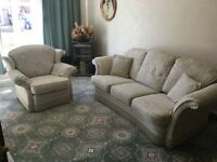 LPK three Seater sofa and one chair