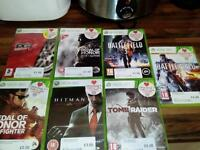 Xbox360 60gb - 7 Games - 2 Controllers