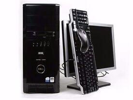 Dell XPS 420 Gaming PC Full Computer 2.4ghz Intel Quad Core 320GB 4GB Windows 10 WIFI 30DayWarranty