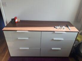 IKEA 6-drawer dresser NYVOLL
