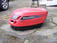 Mountfield Lawnmower Ride on Mower Bonnet Hood with Headlights Hydro