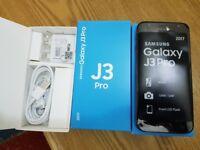 Samsung Galaxy J3 PR0 16GB BLACK Dual Sim Unlocked smartphone