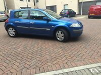 RENAULT MEGANE 1.5 DCI (diesel) ONLY DONE 44K -/ ONE YEAR MOT// ROAD TAX ONLY 30 PER YEAR