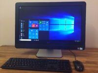 """DELL 9010 - 23"""" All in One PC - Windows 10 - WEBCAM - USB 3.0 - HDMI - Desktop PC Computer"""