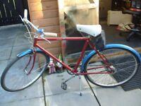 New Hudson (1970s original) Gents/boys bicycle.