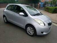 2006 TOYOTA YARIS 1.0 PETROL 5 DOOR HATCHBACK SILVER GOOD CONDITION INSIDE AND OUTSIDE LADY OWNER