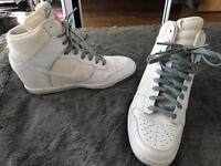 Ladies Nike Hi Top Heel Trainers