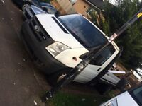 Ford Transit Flatbed 2007 Dropside Lwb pick up truck not tipper recovery car or quad bike
