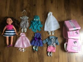DesignaFriend Elle Doll & outfits