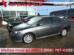 2010 Toyota Corolla S Garantie PEA 84/160 000 Privilège