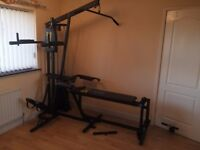 York Multi Gym Compact Complete with Stepper - Excellent condition