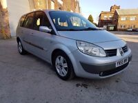 2005(55)RENAULT GRAND SCENIC 1.9 DCI, DIESEL, 7 SEATER, STARTS AND DRIVES, NEEDS TURBO, P/X TO CLEAR