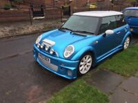 Mini Cooper S supercharged 1.6 with wide kit!