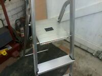 As new Stepladders, 3 steps then the tray, Bargain £12 No offers please
