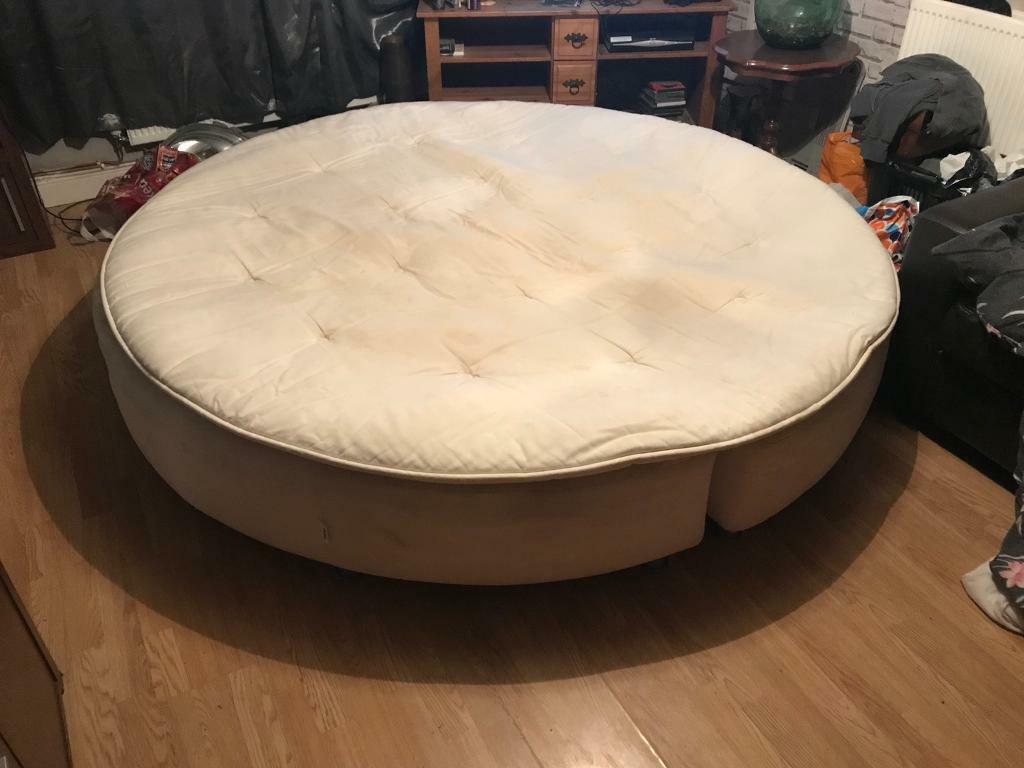 from bed bedroom round mattress baby canopy cribs www circular with revisited circle