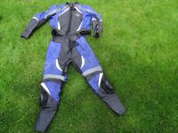 RST motorcycle motorbike suit leather jacket UK 46 EUR 56 trousers UK 34 EUR 54