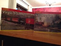 Hornby train sets. R1023 Virgin 125 and Hornby Smokey Joe R1036 for sale.and other items
