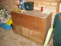 chest of drawers and bed bases
