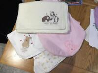 Baby blankets, new or excellent condition, smoke and pet free house
