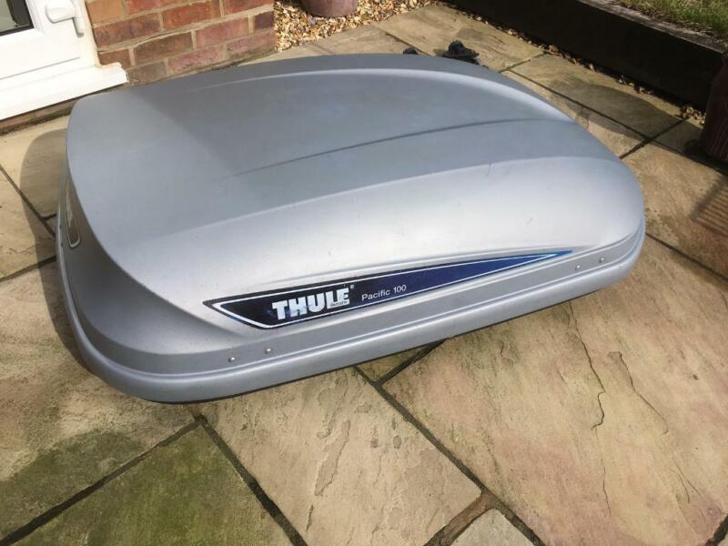 Thule Pacific 100 roof box for sale  West Moors, Ferndown