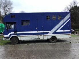 Leyland 45 7.5 horsebox