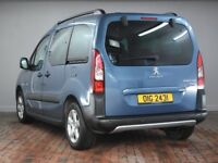 PEUGEOT PARTNER TEPEE 1.6 HDi 115 Outdoor 5dr (blue) 2014